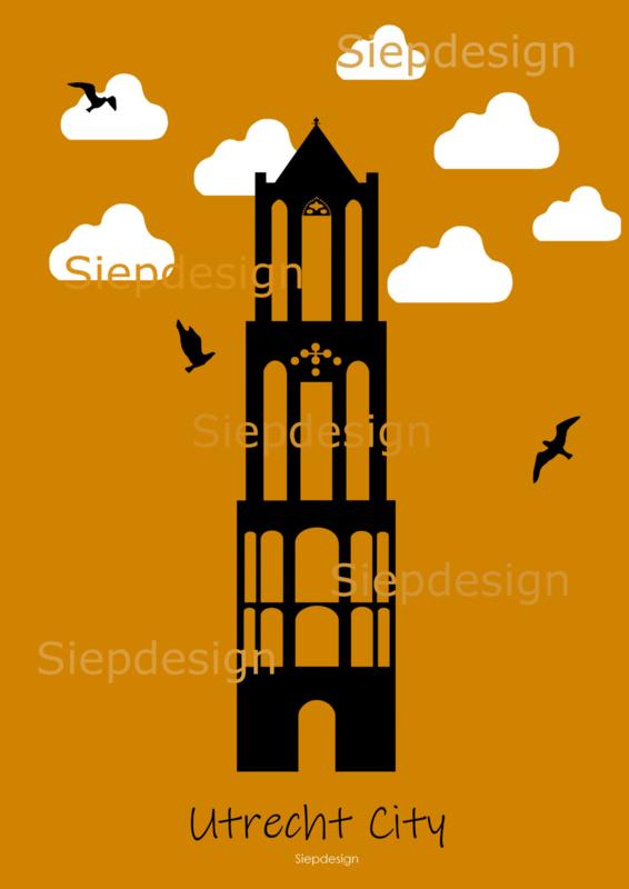Poster Vintage Oranje