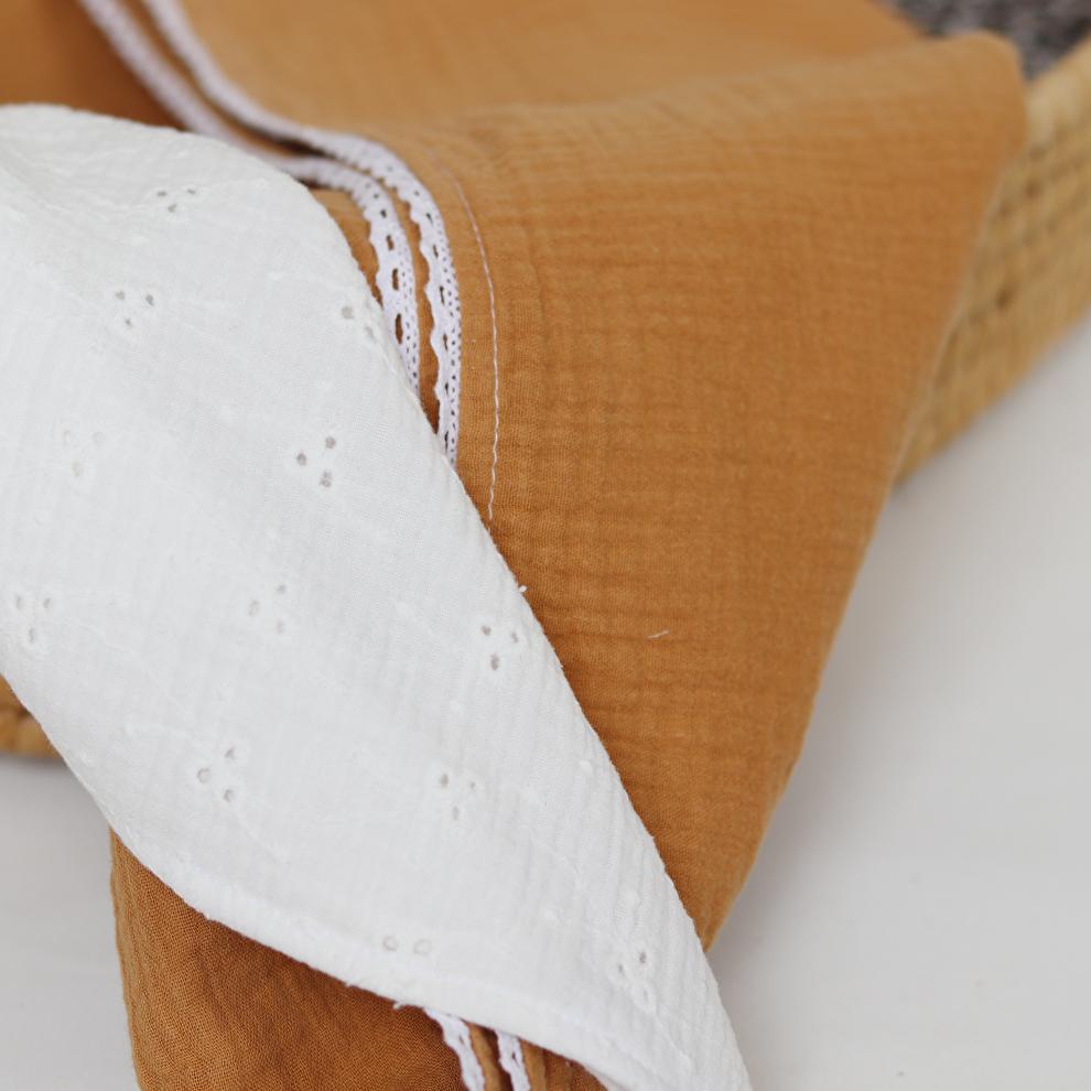 dekens van hydrofiel katoen