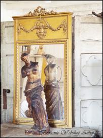 Franse trumeaux spiegel