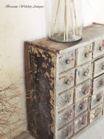 Antique french drawer cabinet