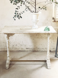 Antique french café table