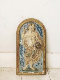 Antiek frans houten ornament
