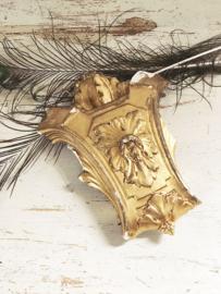 Antiek bois doré ornament