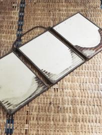 Prachtige 3-luik spiegel