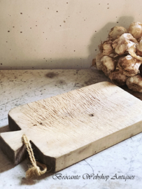 Prachtige oud houten dikke snijplank