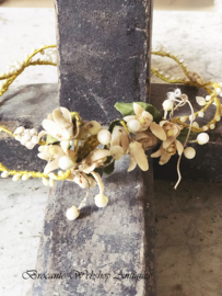 French wax crown/diadem/wreath