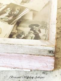 Vitrine kistje/etalage vitrine
