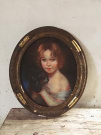 Frans pastel portret/ French pastel portrait