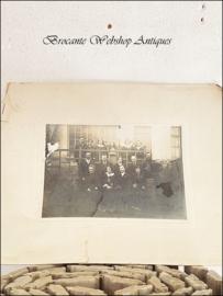 Big antique photo