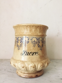 Franse pot/ French pot 'sucre'