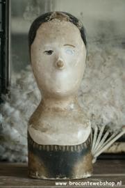 Antiek frans marotte hoofd VERKOCHT