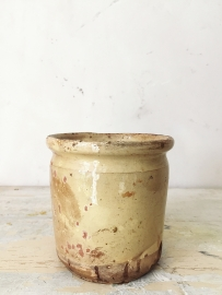 Franse confitpot/ French confit pot antique