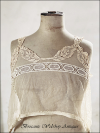 Antique french camisole