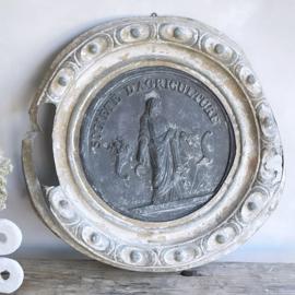 Antieke franse plaat/ ornament