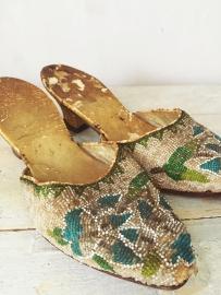 Antieke franse damesschoentjes/ Antique french ladies shoes