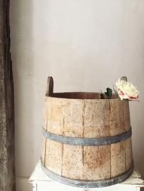 Antieke zweedse ton/ Antique swedish tub