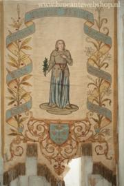 Antieke franse vaandel  -Jeanne d'Arc-