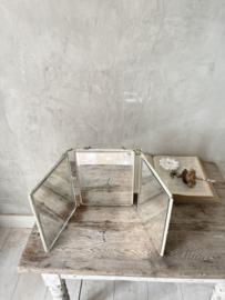 Prachtige drieluik spiegel