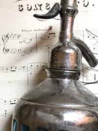 Bijzondere franse soda fles/ spuitfles   PARIS