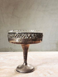 French silver plated bowl