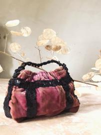Lovely french velours handbag