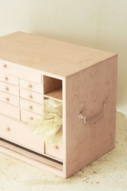 Rose ladenkastje/ Pink little drawer