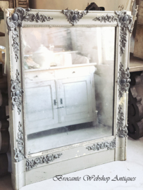 Antique french XL sized mirror