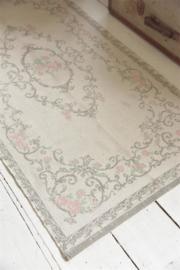 Carpet grey rose