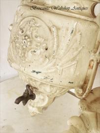 Frans geëmailleerd was/water fontein