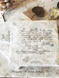 Nostalgic  paper napkins