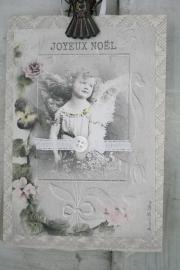 "Single card ""Joyeux Noël"" Jeanne d`Arc Living"