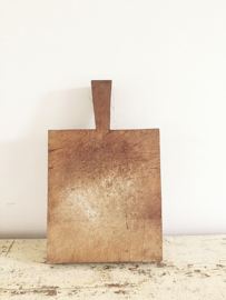 Thick old french wooden cutting board