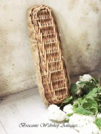 Oud franse stokbrood mand
