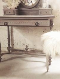 Antiek franse kaptafel Louis XVI stijl