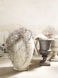 Stylish BIG white pot/ vase