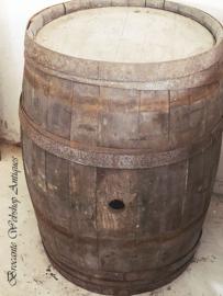Franse antieke wijnton XL size