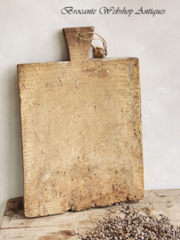 Antique french chopping board XL size
