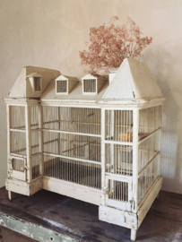Franse vogelkooi/ french bird cage  CHATEAU CAGE