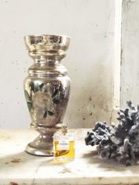 BIG poor man's  silver vase