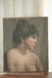 Antiek frans schilderij VERKOCHT