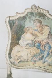 Antiek frans haardscherm
