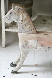 Antiek frans houten paard