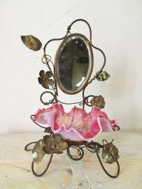 Antiek frans spiegel ornamentje/ French mirror ornament