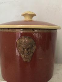 Stijlvolle franse paté pot/ Stylish french paté jar