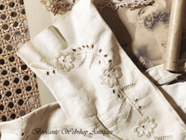 Franse oude zeemleren dames handschoentjes