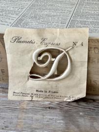 Old monogram letter