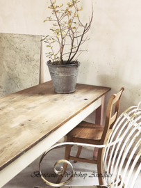 Long french dining table