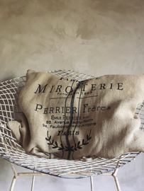 Cushion Miroiterie Jeanne d`Arc Living heavy linen