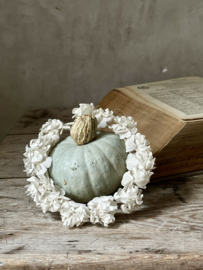 Old french small flower wreath
