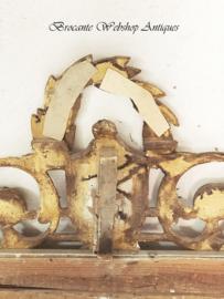 GROOTSE antieke franse bruidsspiegel